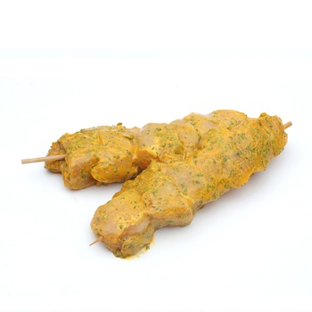 Chicken Garlic & Butter Kebab - Defrost