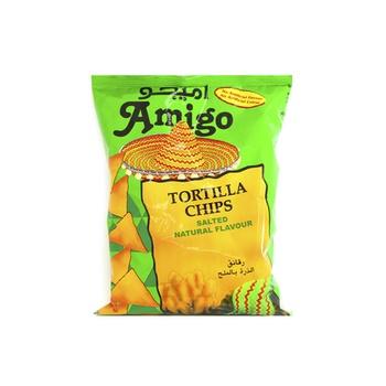 Amigo Tortilla Chips Salted 100g