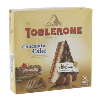 Almondy toblerone cake 400g