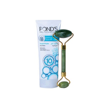 Pond's Facial Foam Pimple Clear 100g with Massager Free