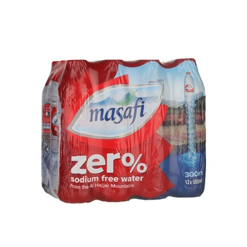 Masafi Zero 12x500ml