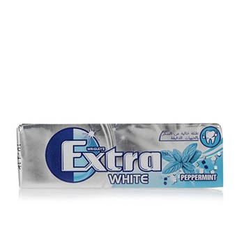 Wrigleys Extra White Peppermint 14g