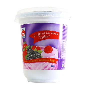Al Ain Fruit Of Forest Yoghurt 380g