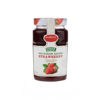 Stute diet jam strawberry 430g