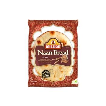 Mission Plain Naan Bread 280g