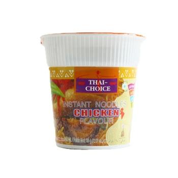 Thai Choice Instant Cup Noodle Chicken Flavour 60g