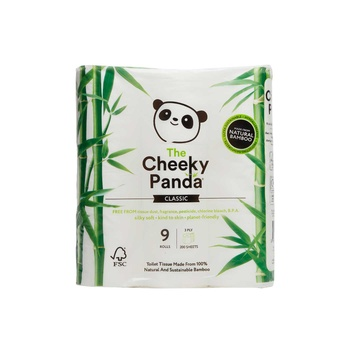 The Cheeky Panda Toilet Tissue 9 Pack