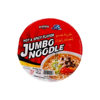Jumbo king Bowl Noodle - Hot & Spicy 110g