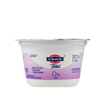 Total 0% Fat Free Greek Yoghurt 170 g