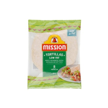 Mission 96% Fat Free Tortilla 8s pack 384g