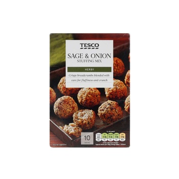 Tesco Sage & Onion Stuffing Mix 170g