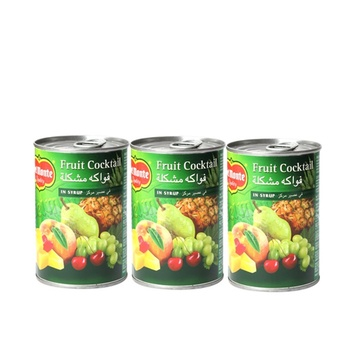 Del Monte Fruit Cocktail In Syrup 3x420g @ Special Price