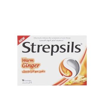 Strepsils Warm Ginger 16s