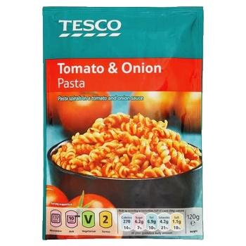 Tesco Pasta Tomato & Onion 120g