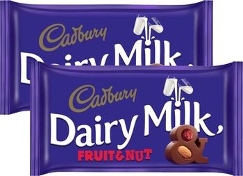Cadbury Dairy Milk Fruit & Nut 2X230g
