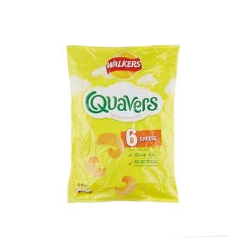 Walker Quavers Cheese 6Pk#72504 17g