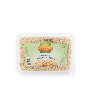 Goodness Foods Almond Blanched Slivered (B) 200g
