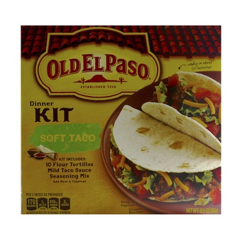 Old El Paso Dinner Kit Soft Taco 354g