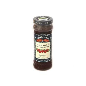 St Dalfour Strawberry Flavour Jam 284g