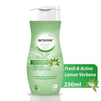 Betadine Intimat Wash Lemon Verbena 250ml