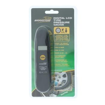 Brookstone LCD Tyre Pressure Gauge