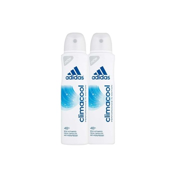 Adidas Climacool Performance In Motion 48H Anti-Perspirant Spray for Men 2 x 150 ml @ 20% Off