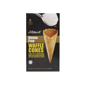 Altimate Gluten Free Waffle Cones 130g