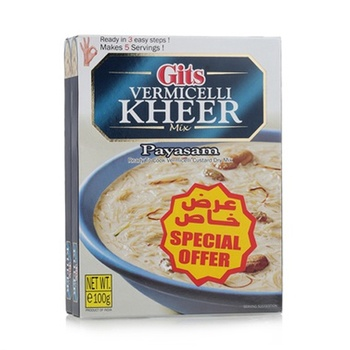Gits Kheer Mix VermiCelli 2 x 100gm + 25% Extra