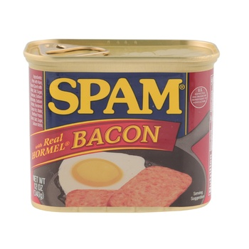 Spam Luncheon Meat with Bacon 12 oz