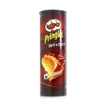 Pringles Potato Chips Hot & Spicy 165g