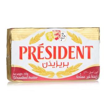 President Butter Unsalted 200G