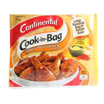 Continental Cook In The Bag Honey BBQ Chicken 42g