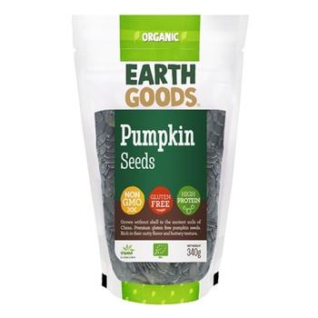 Earth Goods Organic Pumpkin Seeds 340g