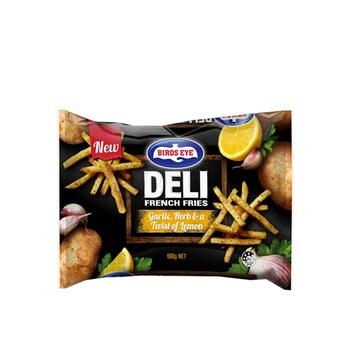 Birds Eye Deli French Fries With Garlic, Herb & Lemon 600g