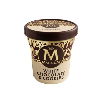 Magnum Double White Cookie 440ml