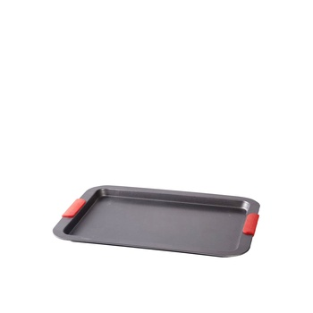 Chefs Pride Cookie Sheet With Silicone Handle