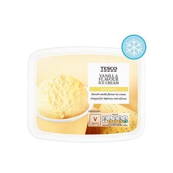 Tesco soft scoop vanilla 2 ltr