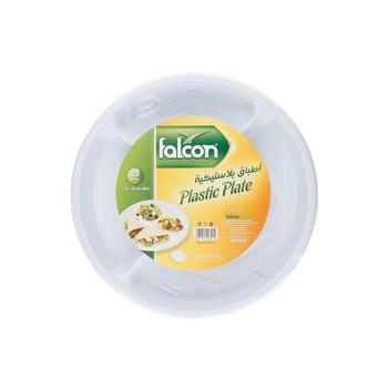 Falcon Plastic Plate Round 26cm M5  25s