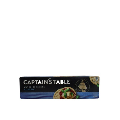 Captains Table Water Crackers - Classic 125g