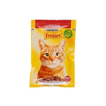 Friskies Cat Cig Beef Pouch 85g