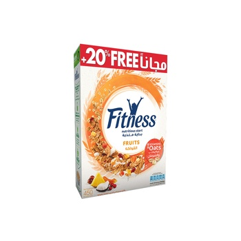 Fitness & Fruit Cereal 20 % Extra Free