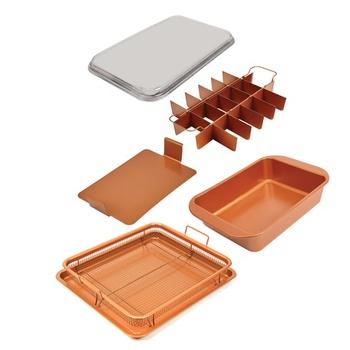 Copper Chef Bake & Crisp Pan - 5 pc Set