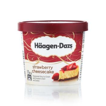 Haagen Dazs Strawberry Cheese Cake Ice Cream 100ml