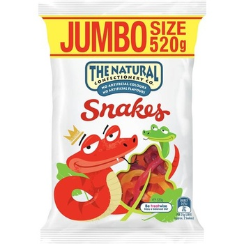 The Natural Confectionery Co. Snakes 520g
