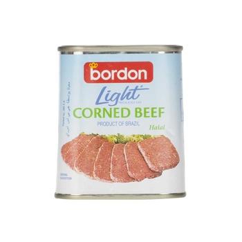 Bordon Light Corned Beef Reduced Fat (Halal) 340g
