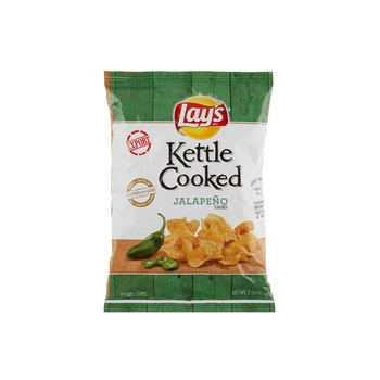 Fritolays Kettle Cooked Jalapeno 2.125oz