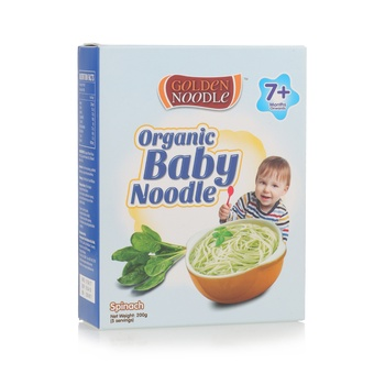 Golden Noodle Organic Baby Spinach 200g