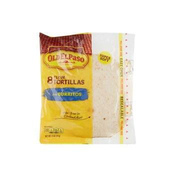 Old El Paso Flour Tortilla 308g