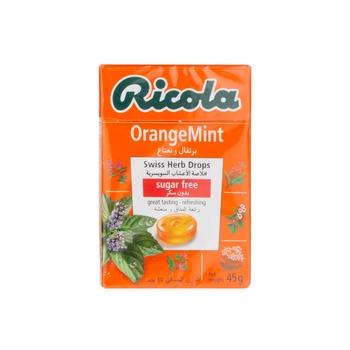 Ricola Sugar Free Herb Orange -Mint  45 Gm.