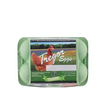 Tregor Eggs Brown Organic 1 X 6pcs